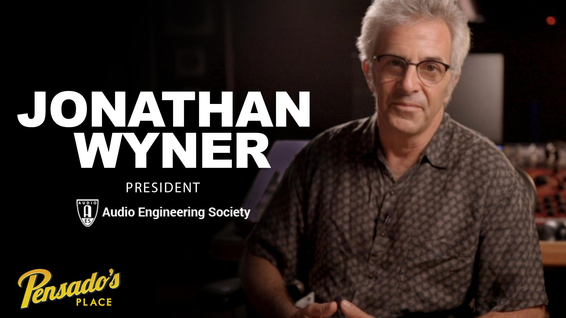President of Audio Engineering Society, Jonathan Wyner