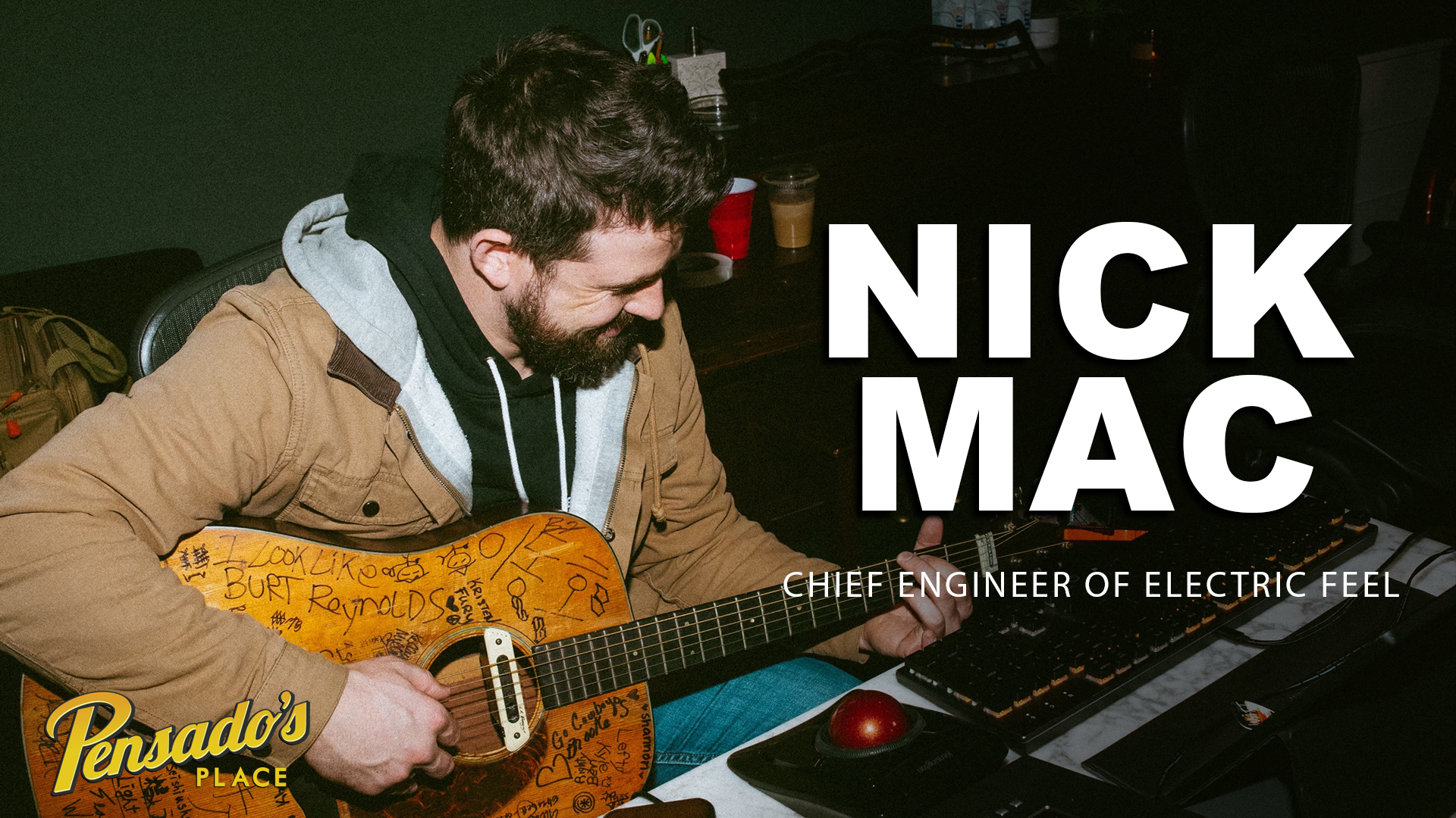 Chief Engineer of Electric Feel, Nick Mac