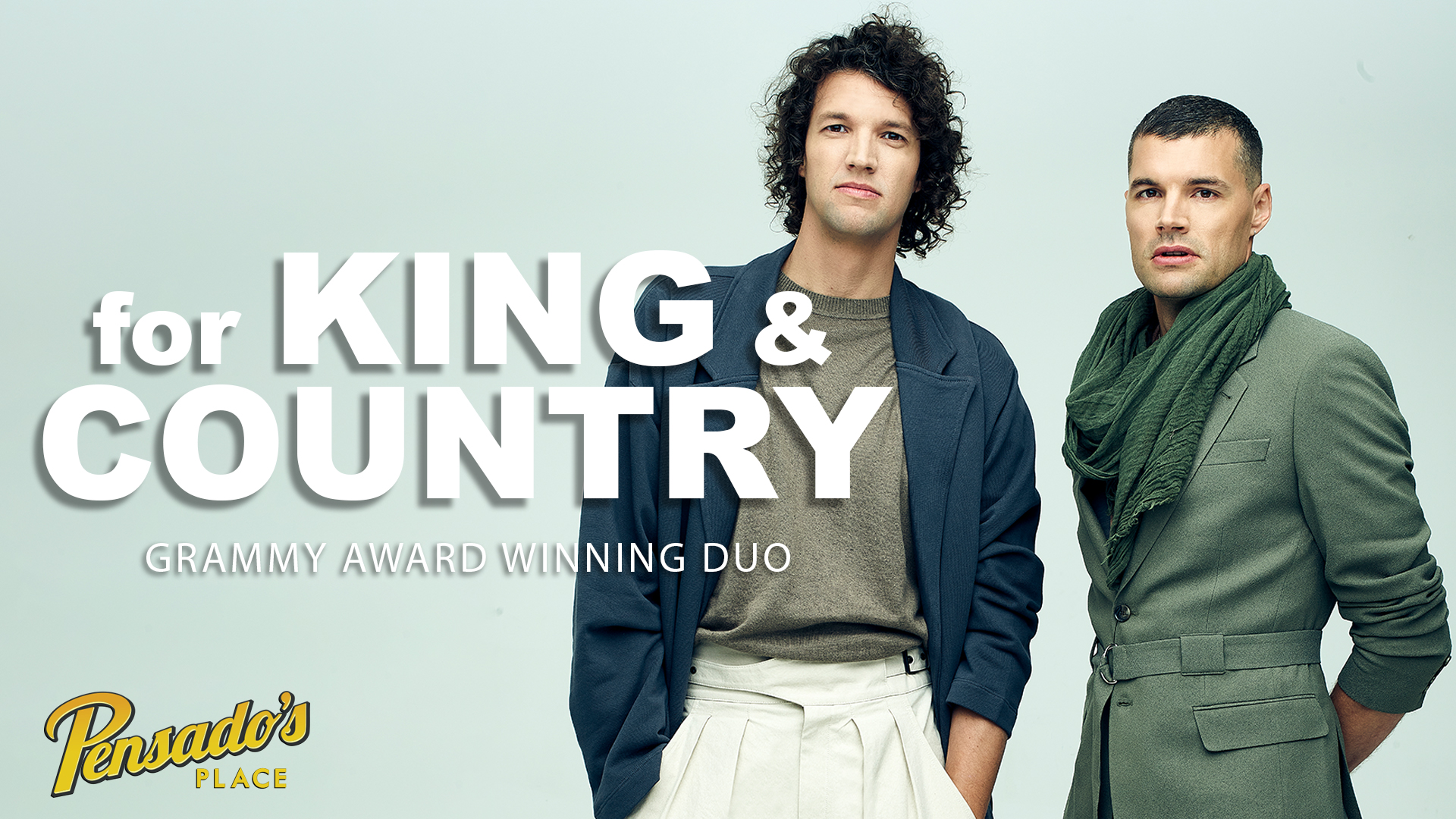 Grammy Award Winning Duo for KING & COUNTRY