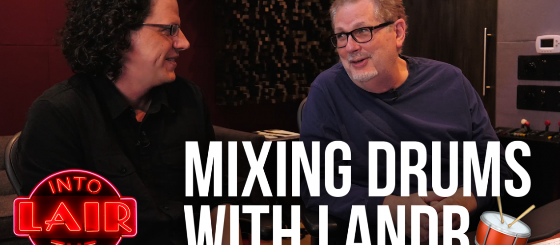 MIXING DRUMS WITH LANDR
