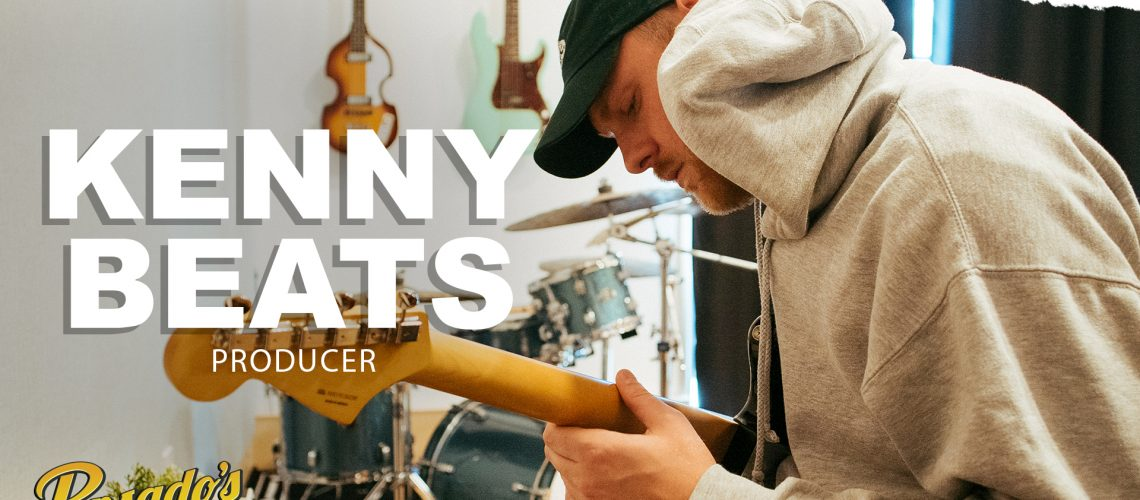 Pensados Place - YouTube Thumbnail-Kenny Beats