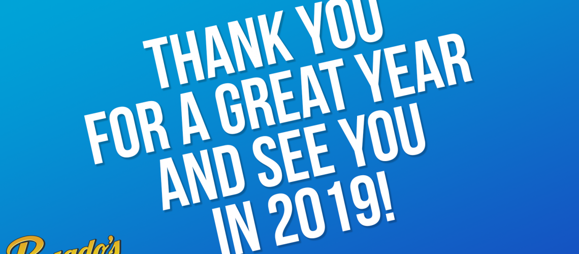 See you in 2019
